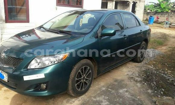 Buy Used Toyota Corolla Green Car in Accra in Greater Accra