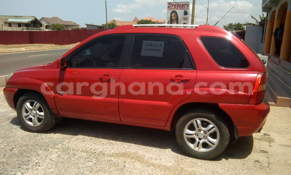 Buy Used Kia Sportage Red Car in Tema in Greater Accra