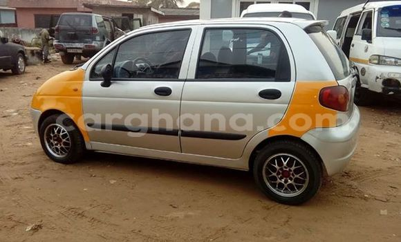 Buy Used Daewoo Matiz Silver Car in Accra in Greater Accra