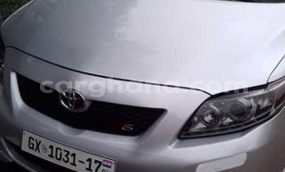 Sayi Na hannu Toyota Corolla Azurfa Mota in Accra a Greater Accra