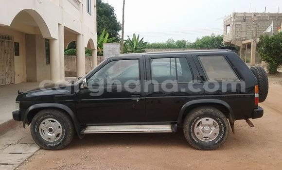 Sayi Na hannu Nissan Pathfinder Black Mota in Accra a Greater Accra