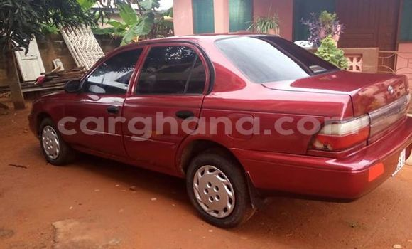 Buy Used Toyota Corolla Red Car in Tema in Greater Accra