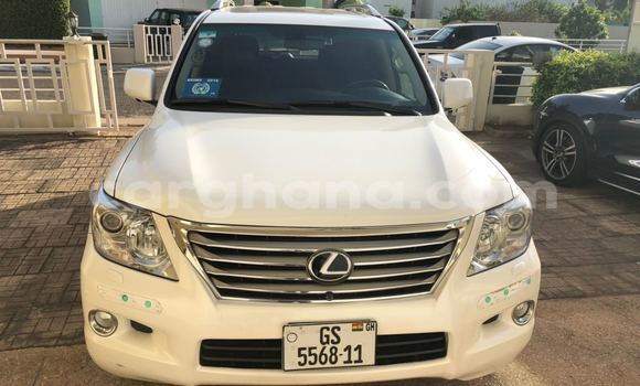 Buy Used Lexus LX White Car in Accra in Greater Accra