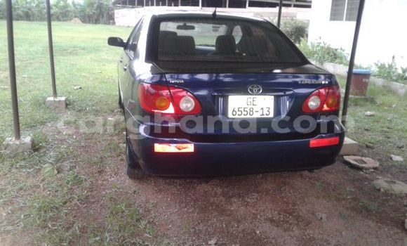 Buy Used Toyota Corolla Blue Car in Cape Coast in Central