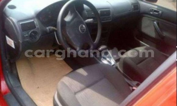 Buy Used Volkswagen Golf Red Car in Accra in Greater Accra