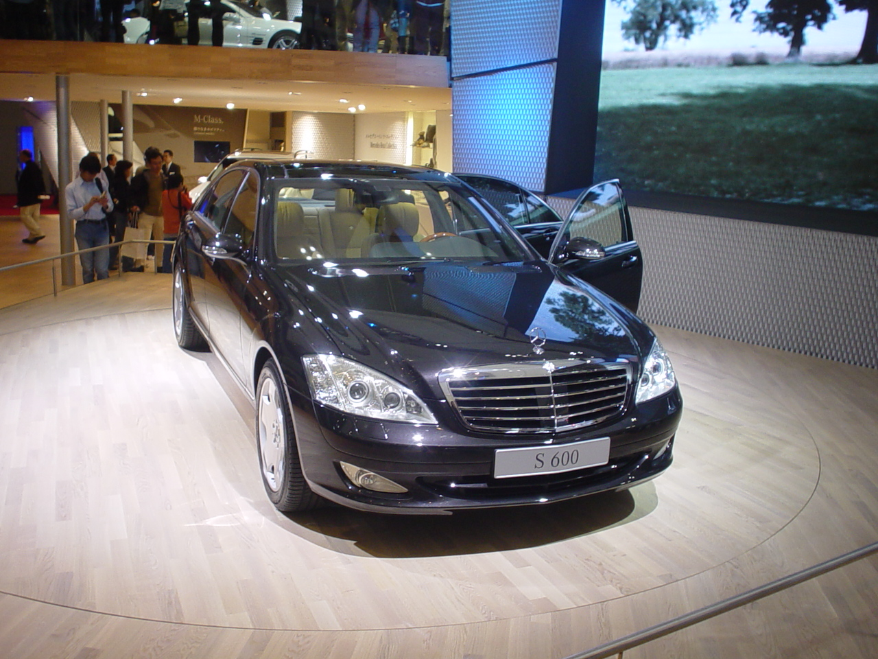 Mercedes benz s600 tms05